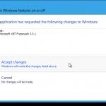 установка .NET Framework в Windows 8